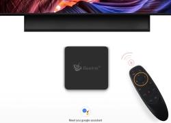 $ 74 med kupon til Beelink GT1 MINI TV Box med Voice Remote - BLACK 4GB DDR4 + 64GB ROM EU PLUG EU lager fra GearBest
