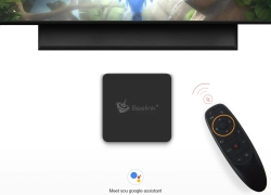 €55 with coupon for Beelink GT1 MINI TV Box with Voice Remote – BLACK 4GB DDR4+32GB ROM EU PLUG from Gearbest