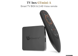 €54 with coupon for Beelink GTmini – A Smart TV Box 2.4G Voice Remote – Black 4GB RAM+64GB ROM EU Plug from GEARBEST