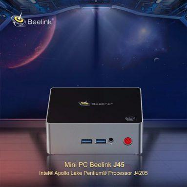 € 213 với phiếu giảm giá cho Beelink J45 Mini PC - BLACK 8GB + 256GB EU PLUG EU WAREHOUSE từ GearBest