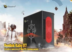 $1389 with coupon for Beelink Kaby G7 i7-8709G Mini PC – BLACK 16GB DDR4 + 256GB SSD ( EU PLUG ) from GearBest