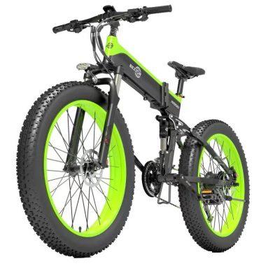 € 1299 med kupong for BEZIOR X1500 1500W 26-tommers sammenleggbar elektrisk sykkel 48V 12.8AH fra EU GER-lager TOMTOP