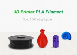 $23 with coupon for Black 3D Printing Supplies PLA – Black from GEARBEST