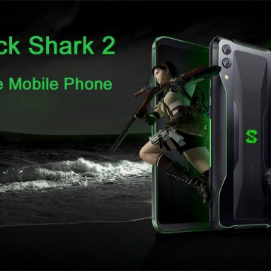$499 with coupon for Black Shark 2 4G Smartphone 8GB RAM 128GB ROM Chinese & English Version from GEARVITA