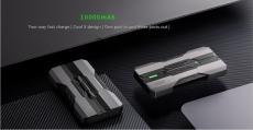 25 s kupónom pre Black Shark od Xiaomi Eco-System 10000mAh 18W Rýchlonabíjacia energetická banka s tromi výstupmi USB pre iPhone 11 Pro XR pre Xiaomi od BANGGOOD