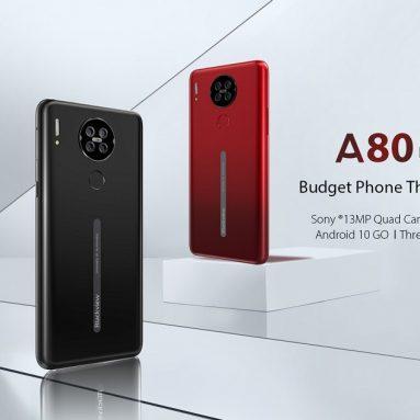 € 61 ब्लैकव्यू A80 ग्लोबल वर्जन 6.217 इंच एचडी + वाटरड्रॉप डिस्प्ले 3800mAh एंड्रॉइड 10 के लिए कूपन के साथ ईयू ईएस गोदाम बैंगगार्ड से 13 जीबी क्वाड रियर कैमरा 2 जीबी 16 जीबी एमटी 6737 वी / डब्ल्यू क्वाड कोर 4 जी स्मार्टफोन