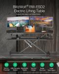 € 103 com cupom para BlitzWolf® BW-ESD2 Electric Powered Standing Desk do EU PL warehouse BANGGOOD