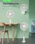 25 € avec coupon pour BlitzWolf® BW-F4 Ventilateur pliant à clip rétractable à 5 pales de l'entrepôt EU CZ BANGGOOD