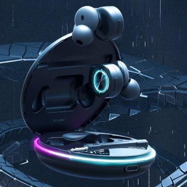 28 € עם קופון עבור BlitzWolf® BW-FLB3 משחקי TWS bluetooth V5.0 אוזניות מצב משחק RGB אור אוזניות אלחוטיות עם מיקרופון מתפרק מבית BANGGOOD