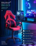 63 € avec coupon pour BlitzWolf® BW-GC3 Racing Style Gaming Chair PU + Mesh Material Design simplifié Siège élargi réglable en hauteur Siège à domicile - Rouge de l'entrepôt EU CZ BANGGOOD