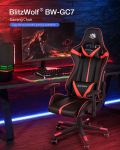 €69 with coupon for BlitzWolf® BW-GC7 New Upgrade Gaming Chair Ergonomic Design 135°Max Reclining Adjustable Armrest for Home Office from EU PL warehouse BANGGOOD