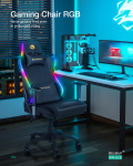 €168 with coupon for BlitzWolf® BW-GC8 Gaming Chair with 7 RGB Lights Effect 160°Max Reclining 2D Ajustable Armrest for Home Office from EU CZ warehouse BANGGOOD