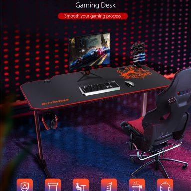 110 € con cupón para BlitzWolf® BW-GD2 Gaming Desk del almacén de EU PL BANGGOOD