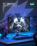 288 € με κουπόνι για BlitzWolf® BW-GM2 Οθόνη 27 ιντσών 2ms 144Hz Ανάλυση 2K Ευρεία έγχρωμη γκάμα 178 ° Γωνία προβολής 100% sRGB Frameless Home Office Gaming Monitor - 27 ίντσες από την BANGGOOD