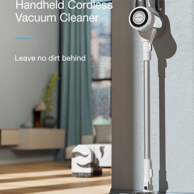 €107 with coupon for BlitzWolf® BW-HC3 Handheld Cordless Vacuum Cleaner 22000Pa Suction Five-layers Filtration System with LED Headlight, 3 Speed, 2200mAh Battery from EU CZ warehouse BANGGOOD
