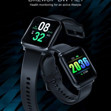 €15 with coupon for BlitzWolf® BW-HL1 1.3′ IPS 8 Sports Mode IP68 Multi-language Display HR Blood Pressure O2 15Days Standby Smart Watch from BANGGOOD