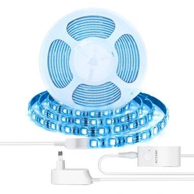 € BlitzWolf® için kuponlu 14 BW-LT11 2M / 5M Akıllı APP Kontrolü RGBW LED Işık Şeridi Seti veya 1M Şerit Işık Uzatma Plus - 2M AB Tak LED Şerit Işığı Seti BANGGOOD'dan