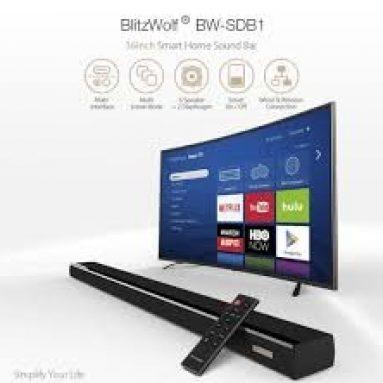 € 69 met coupon voor BlitzWolf® BW-SDB1 60W 36-inch Smart Soundbar van BANGGOOD