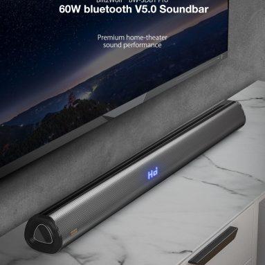 AB CZ deposundan BlitzWolf® BW-SDB69 Pro 1-inç bluetooth V35 Soundbar için kuponlu € 5.0 BANGGOOD