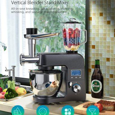 143 € με κουπόνι για BlitzWolf® BW-VB1 Vertical Blender Stand Mixer με 1500W Pure Copper Motor, 8 Ρυθμιζόμενες ταχύτητες, Πολυλειτουργική σχεδίαση, 5.5L Μεγάλο μπολ από την BANGGOOD