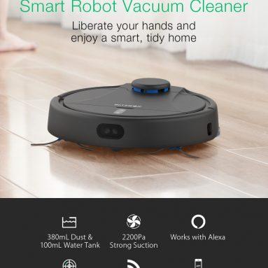 178 € са купоном за БлитзВолф® БВ-ВЦ2 паметни роботски усисавач из ЕУ ЦЗ складишта БАНГГООД
