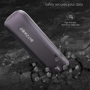 78 € עם קופון ל- BlitzWolf® BW-PSSD3 SSD נייד 512GB USB 3.2 Gen 2 עם כונן Solid State כונן 940MB / s כונן קשיח WTO SSD ממחסן CZ האיחוד האירופי BANGGOOD