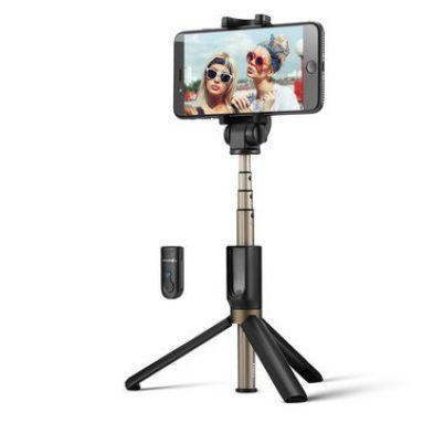 BlitzWolf BW-BS12 3에 대한 쿠폰이 포함 된 $ 3 Banggood의 1 Bluetooth Remote Tripod Selfie 스틱