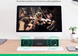 €26 with coupon for Blitzwolf® BW-SDB0 10W 1200mAH Mini Smart Bluetooth Soundbar for Desktop or Laptop PC from BANGGOOD