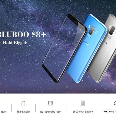 $ 119 med kupong for Bluboo S8 Plus Smartphone 4GB RAM ROM 64GB fra GEARVITA