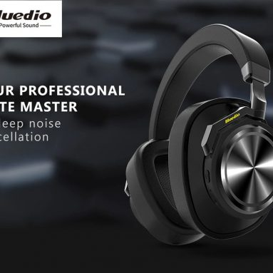 $42 with coupon for Bluedio T6 Headphone Wireless Bluetooth Headset – YELLOW from GearBest