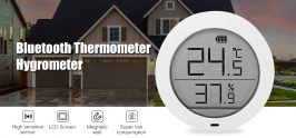 $12 with coupon for Bluetooth Thermometer Hygrometer from Xiaomi Youpin from GEARBEST