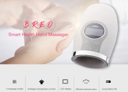 €105 with coupon for Breo WOWOS Intelligent Health Hand Massager from GEARBEST