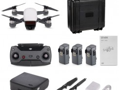 24% OFF DJI Spark 12MP 1080P Wifi FPV RC Quadcopter Combo – RTF,limited offer $659 from TOMTOP Technology Co., Ltd