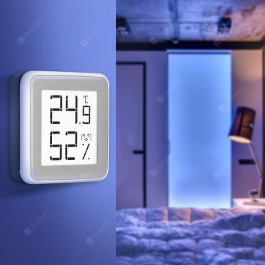 € 8 C201 Elektronik E-mürekkep Ekranlı kuponlu Termometre Higrometre, GERIBEST'den Xiaomi youpin