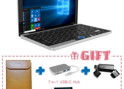 $24 OFF GPD Pocket 7 Inches Mini Laptop,free shipping $495.99(Code:GPD24) from TOMTOP Technology Co., Ltd