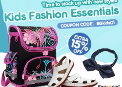 Extra 15% OFF for Children Fashion New Styles from HongKong BangGood network Ltd.