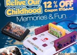 12% OFF for Collection of Classic Game in your Child Memory from HongKong BangGood network Ltd.