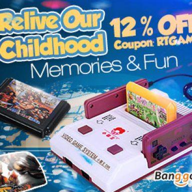 12% OFF för insamling av klassiskt spel i ditt barnminne från HongKong BangGood Network Ltd.