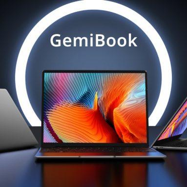 287 יורו עם קופון למסך CHUWI GemiBook 13 אינץ '2K IPS מסך אינטל Celeron J4115 12GB LPDDR4X RAM 256GB SSD 38Wh סוללה מחברת תאורה אחורית מסוג C עם תכונות מלאות מחברת BANGGOOD