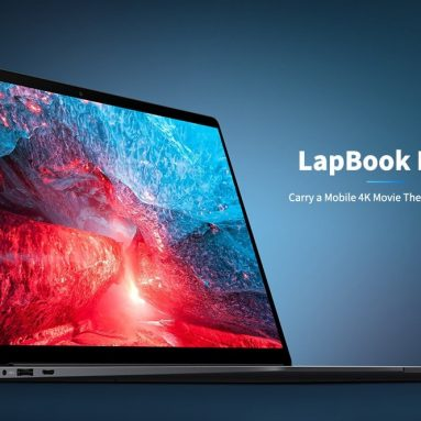 €366 with coupon for CHUWI LapBook Plus 15.6 inch Laptop from BANGGOOD
