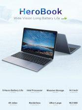 € 161 sa kupon para sa CHUWI HeroBook Laptop 14.1 inch Intel Atom x5-E8000 mula sa GEARVITA