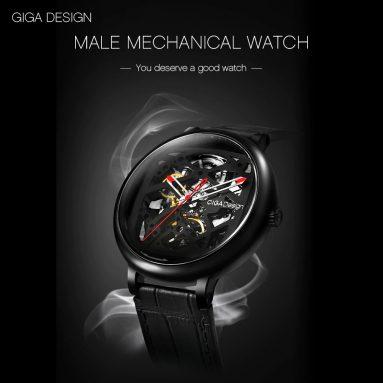 $ 185 s kupónom pre CIGA Design Creative Automatic Mechanické pánske hodinky z Xiaomi youpin - Silver od GEARBEST