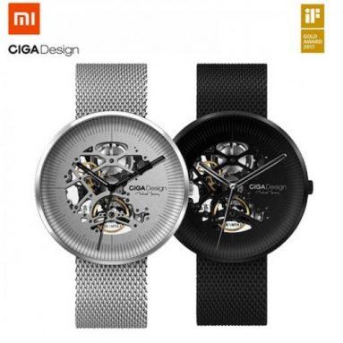 $ 152 s kupónom pre CIGA Design MY Series MY - II Mechanické hodinky od Xiaomi youpin - Čierne od GEARBEST