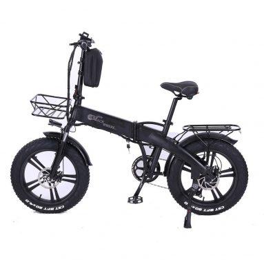 €928 CMACEWHEEL GT20-PRO 750W 48V 10Ah 20x4in फोल्डिंग इलेक्ट्रिक साइकिल के लिए कूपन के साथ 45km/h टॉप स्पीड 40-60KM माइलेज इलेक्ट्रिक बाइक EU CZ गोदाम से BANGGOOD