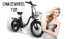 € 917 dengan kupon untuk CMACEWHEEL Y20 48v 15Ah 750W 20in Sepeda Listrik Lipat 3 Mode 45km / h Kecepatan Maksimal 60-100km Rentang Rem Cakram E Sepeda dari gudang EU CZ BANGGOOD