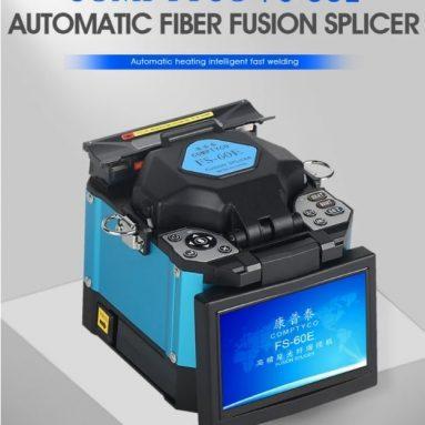 527 € z kuponem na spawarkę światłowodową COMPTYCO FS-60E FTTH Splicer światłowodowy z magazynu EU CZ BANGGOOD