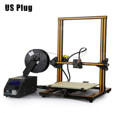 $329 with coupon for Creality3D CR – 10 3D Desktop DIY Printer – US PLUG COFFEE AND BLACK from GearBest