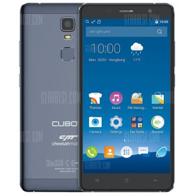 $99 with coupon for CUBOT Cheetahphone 4G Phablet – GRAY from GearBest
