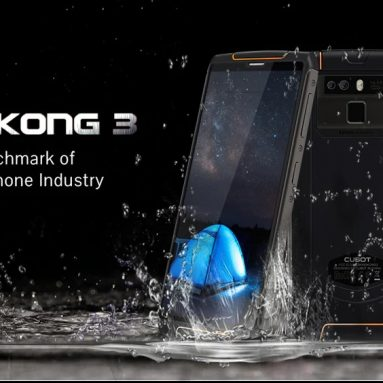 €122 with coupon for CUBOT King Kong 3 4G Phablet from GEARBEST