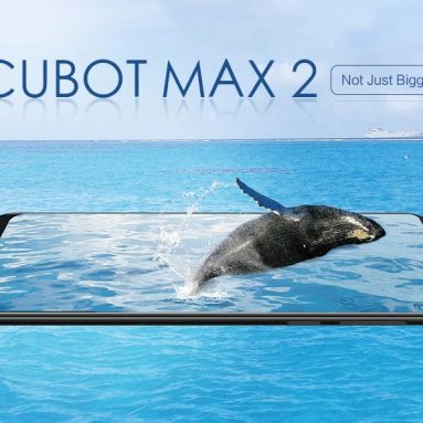 $129 with coupon for CUBOT MAX 2 4G Phablet – Twilight EU Plug from GEARBEST